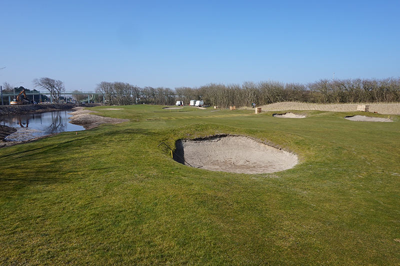 Duinpanne voor Royal Ostend Golf Club